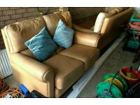 Leather Sofas 2 & 3 Seaters for sale