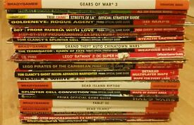 Big bundle of video game strategy guides