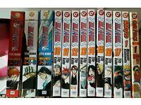 Bleach Manga 1-17 Tite Kubo + One Piece + Naruto