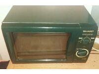 Sharp Microwave R-202 green GWO