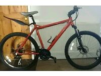 "Muddyfox Bigfoot mountain bike(20"" frame) Mint condition"