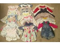 Baby Girl 0-3 & 3-6 & 6-9 Month Dresses