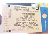 Eric Prydz 5.0 Steel Yard - Victoria Park London 1 x ticket sold out