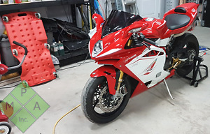 Mv Agusta f4rr f4 rr 2013 15k in options cost was 40k+