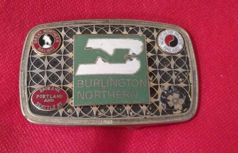 Burlington Northern Belt Buckle