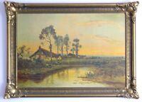 Rural Landscape  Picture On Board (Emmerson)