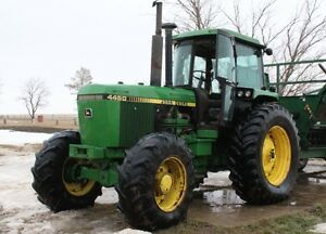 1987 John Deere 4450 FWA for sale