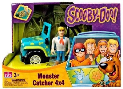 Scooby Doo Monster Catcher 4x4 Playset [Includes Fred] ()
