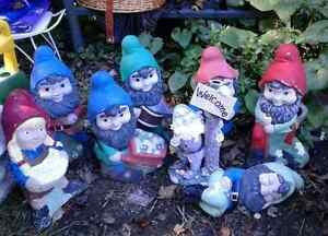 Lot of Garden Gnomes