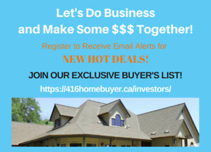 Are you a Real Estate Investor? Cash House Buyer?