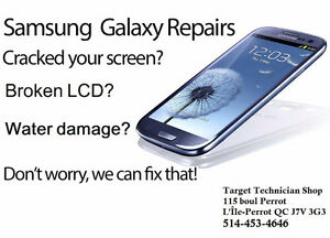 SAMSUNG Cracked Screens repair here ! BEST PRICES GURANTEED