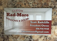 Rad-More Window and Door Installer-Free Estimates