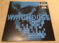Watch Dogs Video Game Soundtrack Vinyl Record LP Blue Splatter