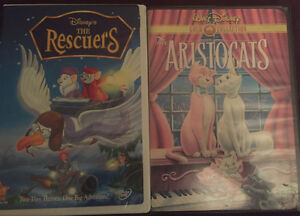 Disney's The Rescuers DVD. Disney's The Aristocats DVD Gold Coll