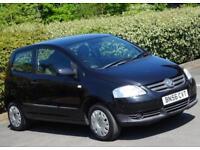 2006 56 Volkswagen Fox 1.2 1198 cc Urban, 3 Doors, Black, ONE owner from new