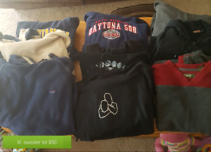 Men's xl clothing lots