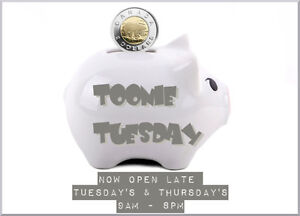 TOONIE TUESDAY ALERT! ALL CHILDREN`S CLOTHING