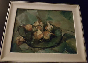 Signed Painting by Canadian Artist Dennis Burton *OIL ON CANVAS