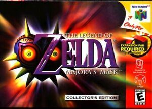 Zelda: Majora's Mask (N64 Game Pak)