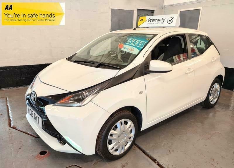 2016 Toyota AYGO 1.0 VVT-I X-PLAY HATCHBACK Petrol Manual