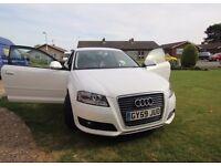 For Sale - Audi A3 1.6L 3 Door White 2010 (59 Reg.)