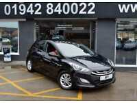 2013 63 HYUNDAI I30 1.4 ACTIVE 5D 98 BHP HATCH,1 FORMER, 40-000M MOST SH, BLACK