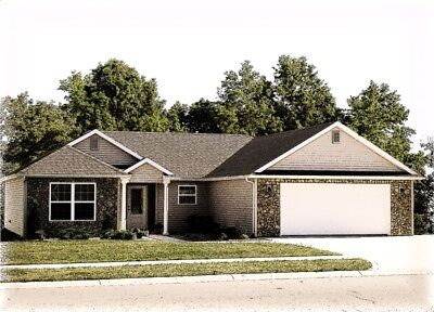 Custom Home House Plan 1 642 Sf Ranch Blueprint Plans