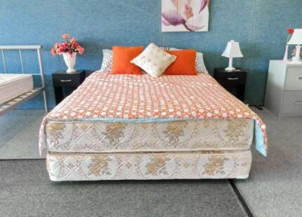 DELIVERY TODAY Ensemble Queen bed & mattress QUICK SALE Belmont Belmont Area Preview