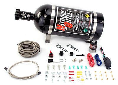 (Nitrous Outlet Universal Single Nozzle Dry System (No Bottle))