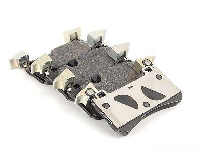front rear brake pad kit mercedes benz c63 amg base v8 6 3l ebay. Black Bedroom Furniture Sets. Home Design Ideas