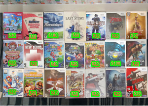 Nintendo Wii   Games •  PriceInPhoto • PickUpOnly