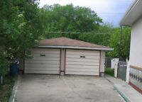 SPACIOUS DOUBLE CAR GARAGE IN NW AREA