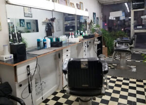 Barber Shop for Sale, $25,000, two chairs, steady clientele!