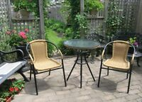 NEW BISTRO SET (Table & 2 chairs)