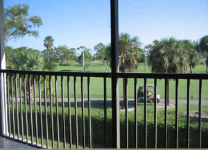 Spacious (1460sf) condo on the Crystal lake golf in Pompano
