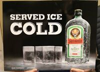Jagermeister Tin Sign Served Ice Cold