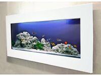 Beautiful Wall Mounted Aquarium fish tank
