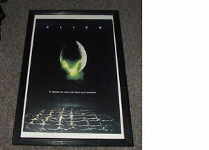 Alien Mini Movie Poster And Frame - $28.00