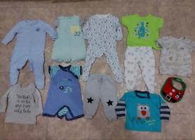Boys' clothes aged 6-9mcc