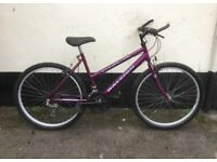"LADIES RALEIGH MAX MOUNTAIN BIKE 18"" FRAME £45"