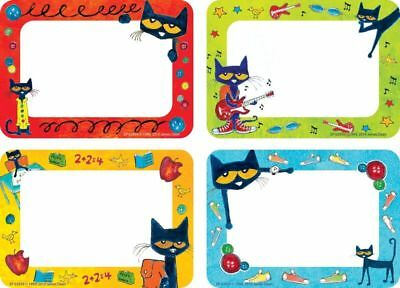 Pete The Cat Classroom Decorations (EP 63939 Pete the Cat Name Tags Labels Classroom Decorations Teaching Supplies)