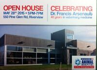 OPEN HOUSE & BBQ Riverview Animal Hospital
