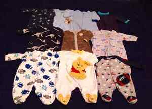 Baby boy clothes 75 items...