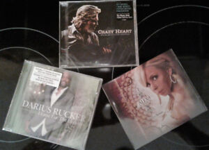3 Country CDs, Unopened ... $15