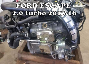 MOTEURS 2.0 L TURBO FORD ESCAPE 2013 A 2016 $999 BAS MILLAGES