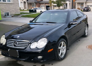 2005 Benz C230 Sport Coupe, Panoramic,185km