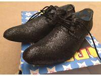 Irregular Choice Men's glitter shoes. Size 9.