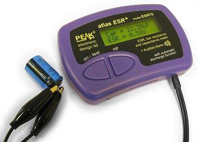 Esr70 Latest Version Peak Atlas In-circuit Capacitor Tester New Meter Esr 70