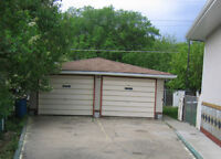 SPACIOUS DOUBLE CAR GARAGE IN THE NORTHWEST AREA
