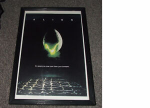 Alien Mini Movie Poster And Frame - $30.00
